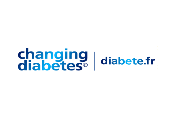 Logo diabete.fr - changing diabetes